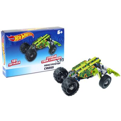 Констр-р 1toy Т15401 Hot Wheels Cross 10