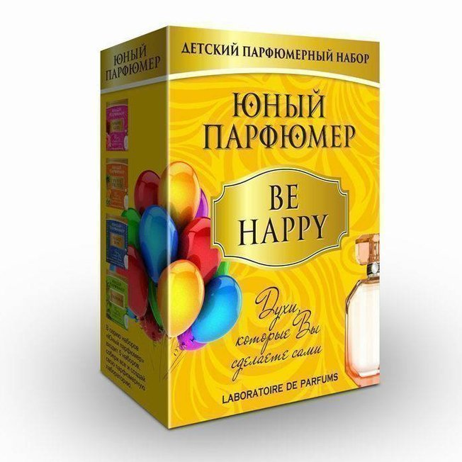 Набор ДТ Юный парфюмер Be Happy 330 /Master IQ²